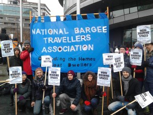 The NBTA at the March for Homes, 31st January 2015